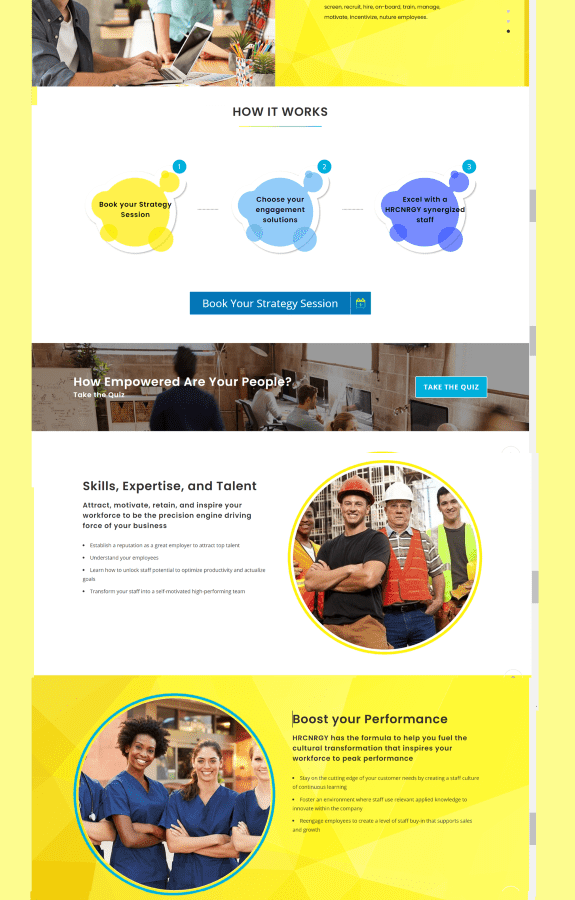 Nu Business Solutions web development agency web design for a professional B2B service company